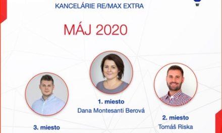 Najúspešnejší maklér za máj 2020