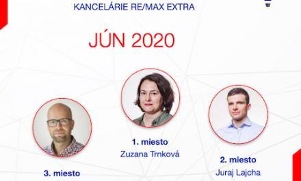 Najúspešnejší maklér za jún 2020