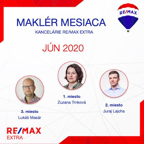makler mesiaca jun 2020