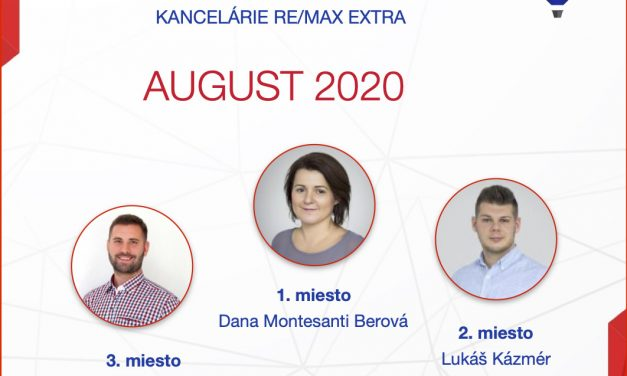 Najúspešnejší maklér za august 2020