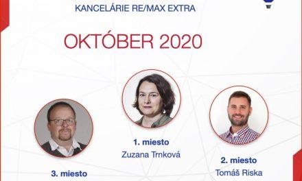 Najúspešnejší maklér za október 2020