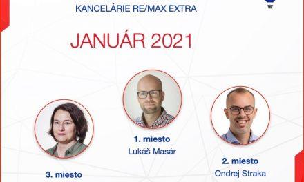 Najlepší realitny maklér za január 2021