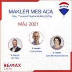 Najlepší realitný maklér za MESIAC MÁJ – 2021