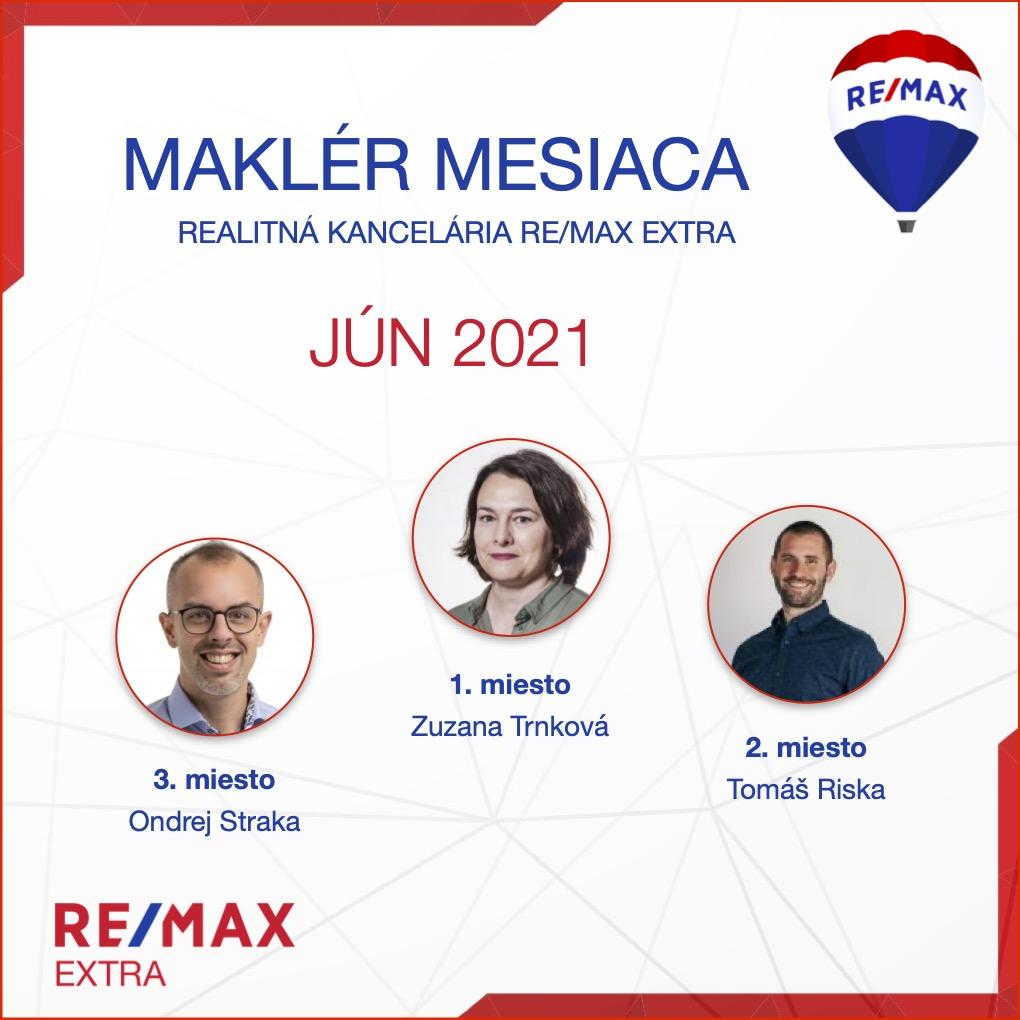 REALITNY Makler mesiaca poradie REMAX 042021